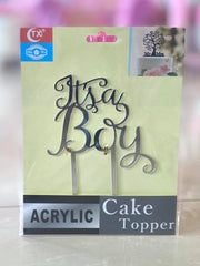 Party Cake Topper It's A Boy