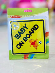 Baby on Board Pooh