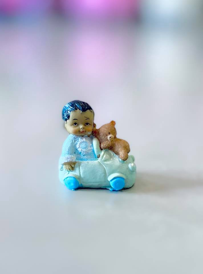 Shower Ceramic Baby in Car