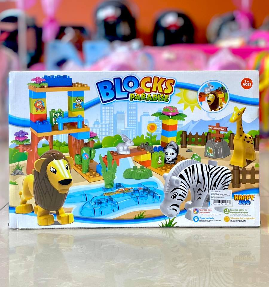 Toy Blocks Paradise 59pc