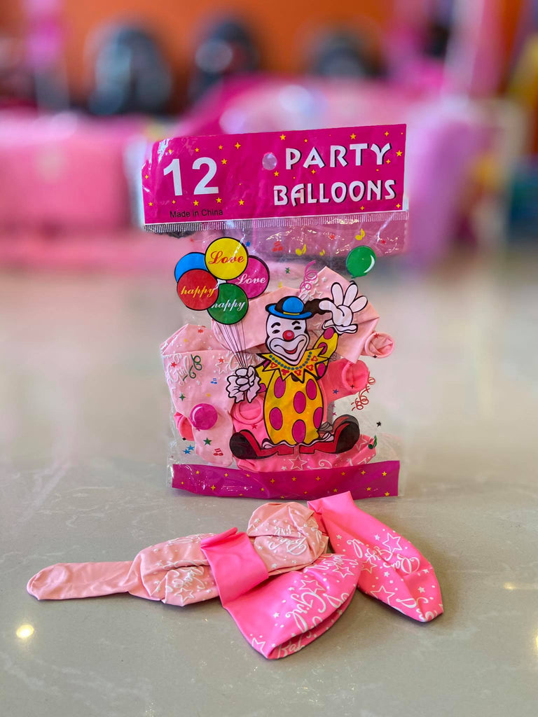 Balloon 12pk It's a Girl