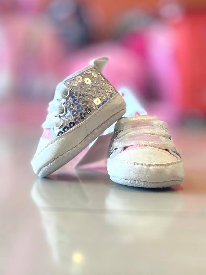 Girls NB Crib Shoes