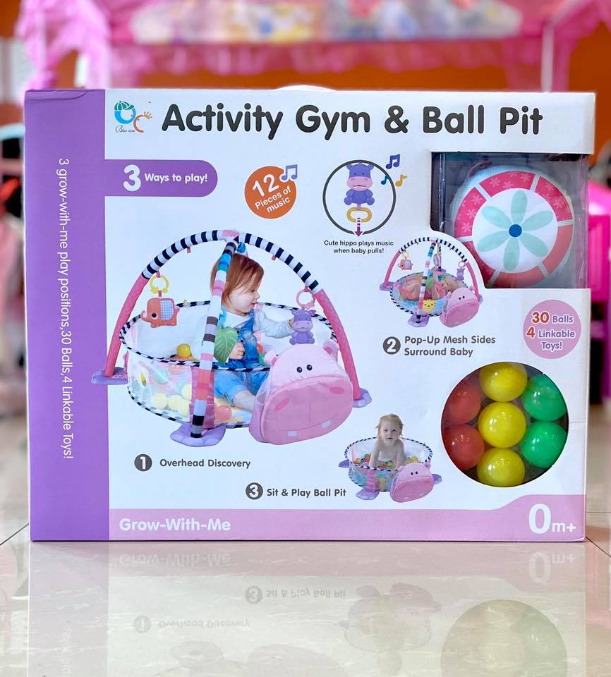 Gym & Ball Pit-Hippo
