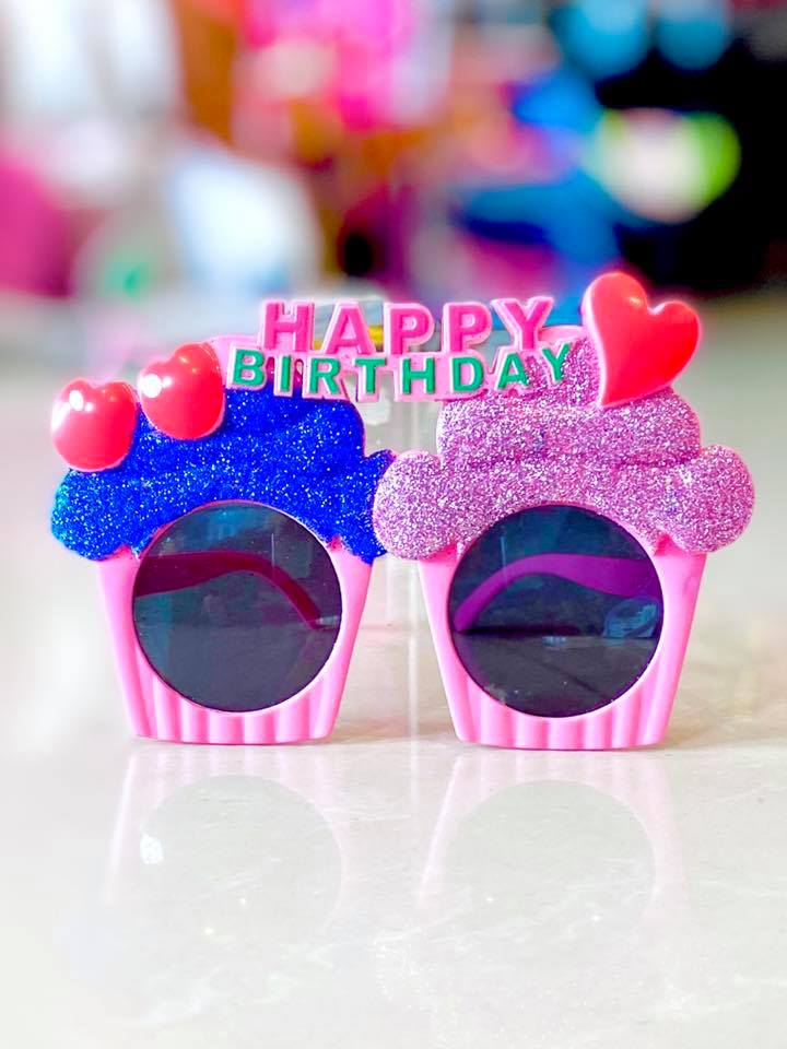 Party Glasses HB Cupcake