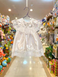 Girl Satin Christening Dress