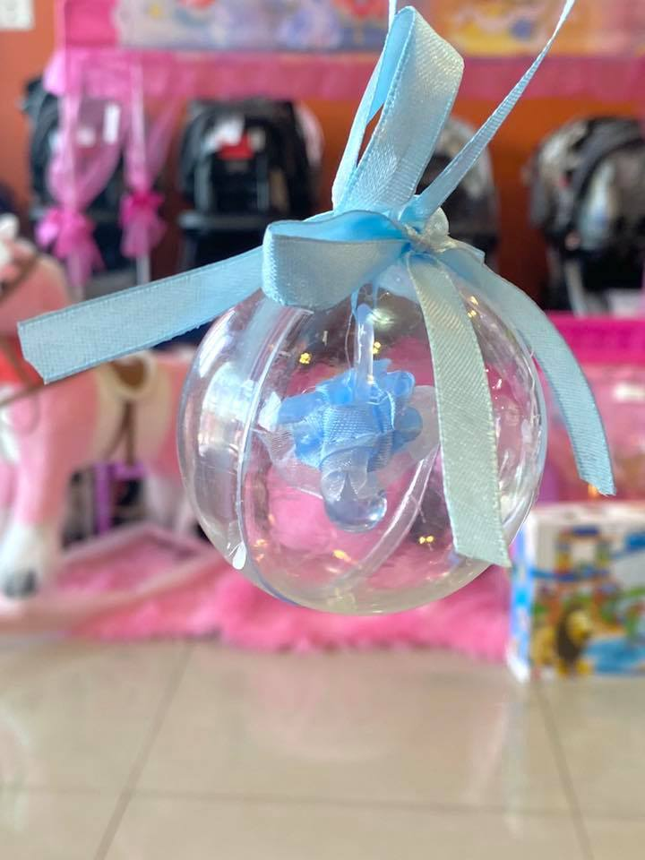Shower Pacifier in Clear Ball
