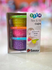 Bath 13pc Flex & Fill Cup