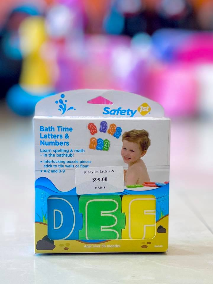 Safety 1st Letters & Numbers