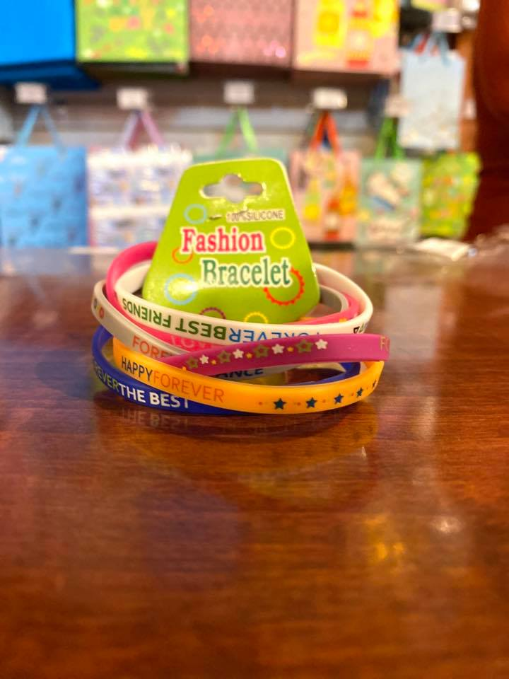 Party Bracelet-Silicone 5pc