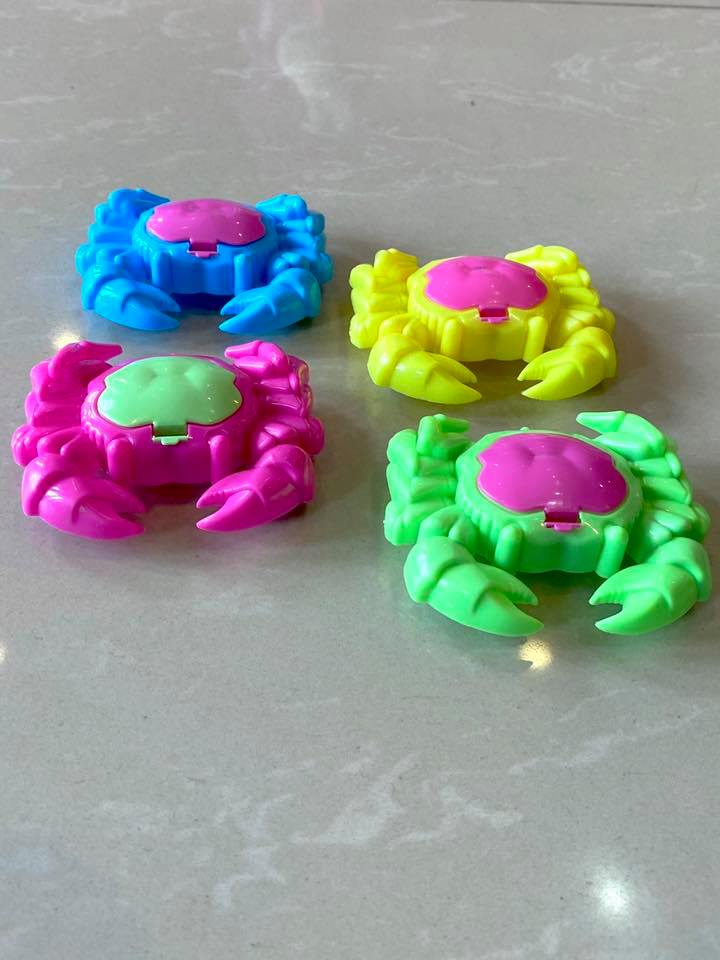Party Toy Crab 4pk
