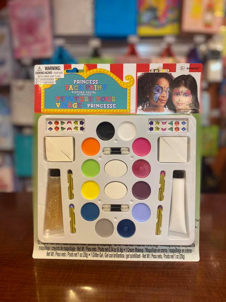 Pcess Face & Body Paint Kit