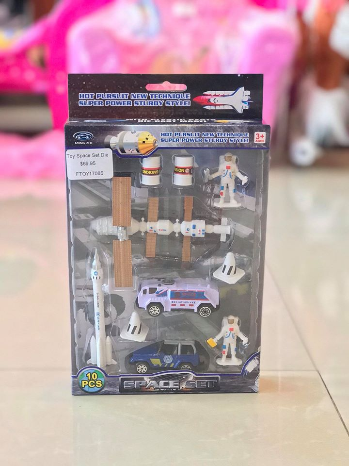 Toy Space Set Die Cast 10pc