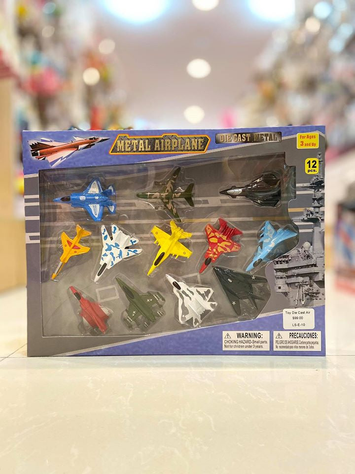 Toy Die Cast Air Jet Set