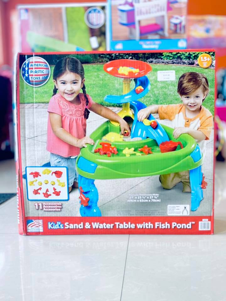 Fish Pond Sand & Water