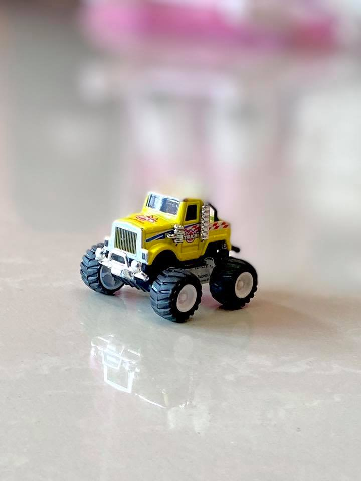 Die Cast Model Big Wheel