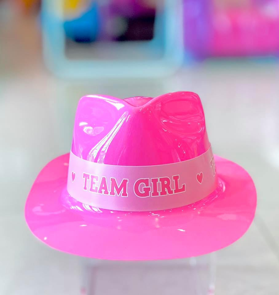 Team Girl Hat Plastic