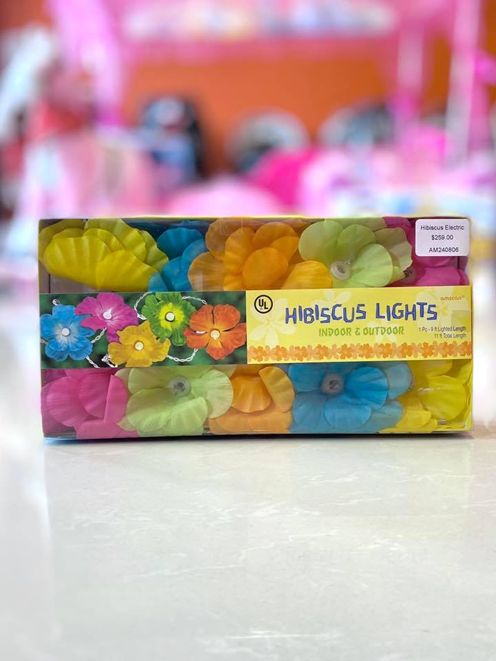 Hibiscus Electric Lights Set