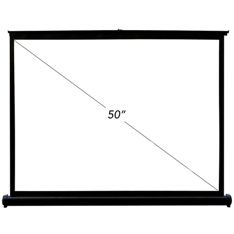 50inch Portable Table Top Projector Screen