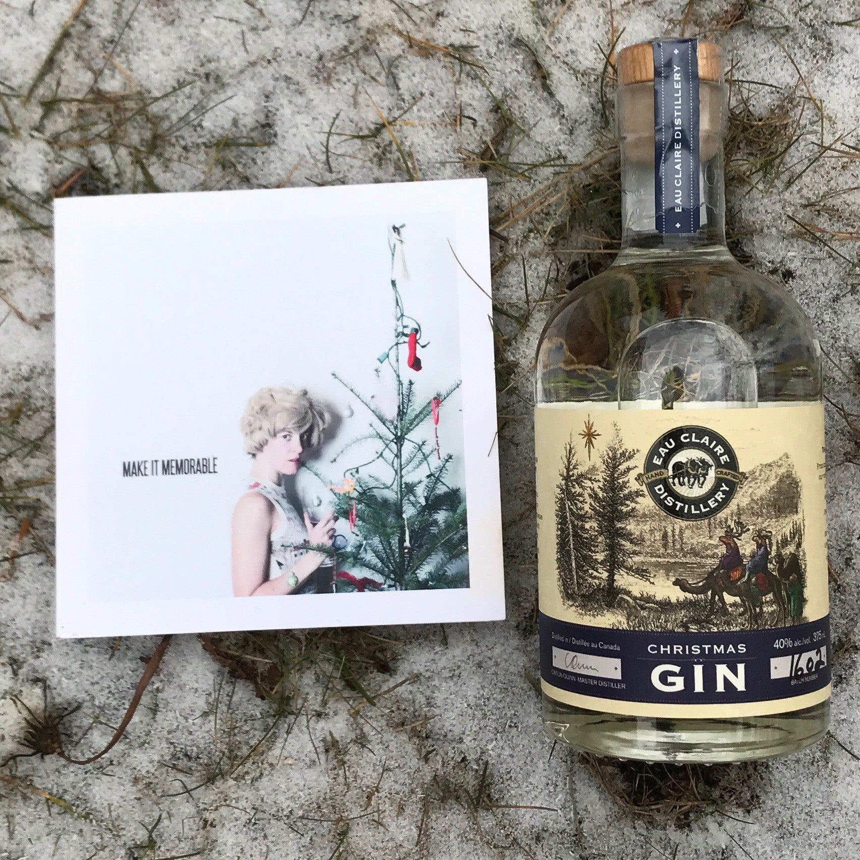 A Gallantry Beer Pair: Make It Memorable + Christmas Gin