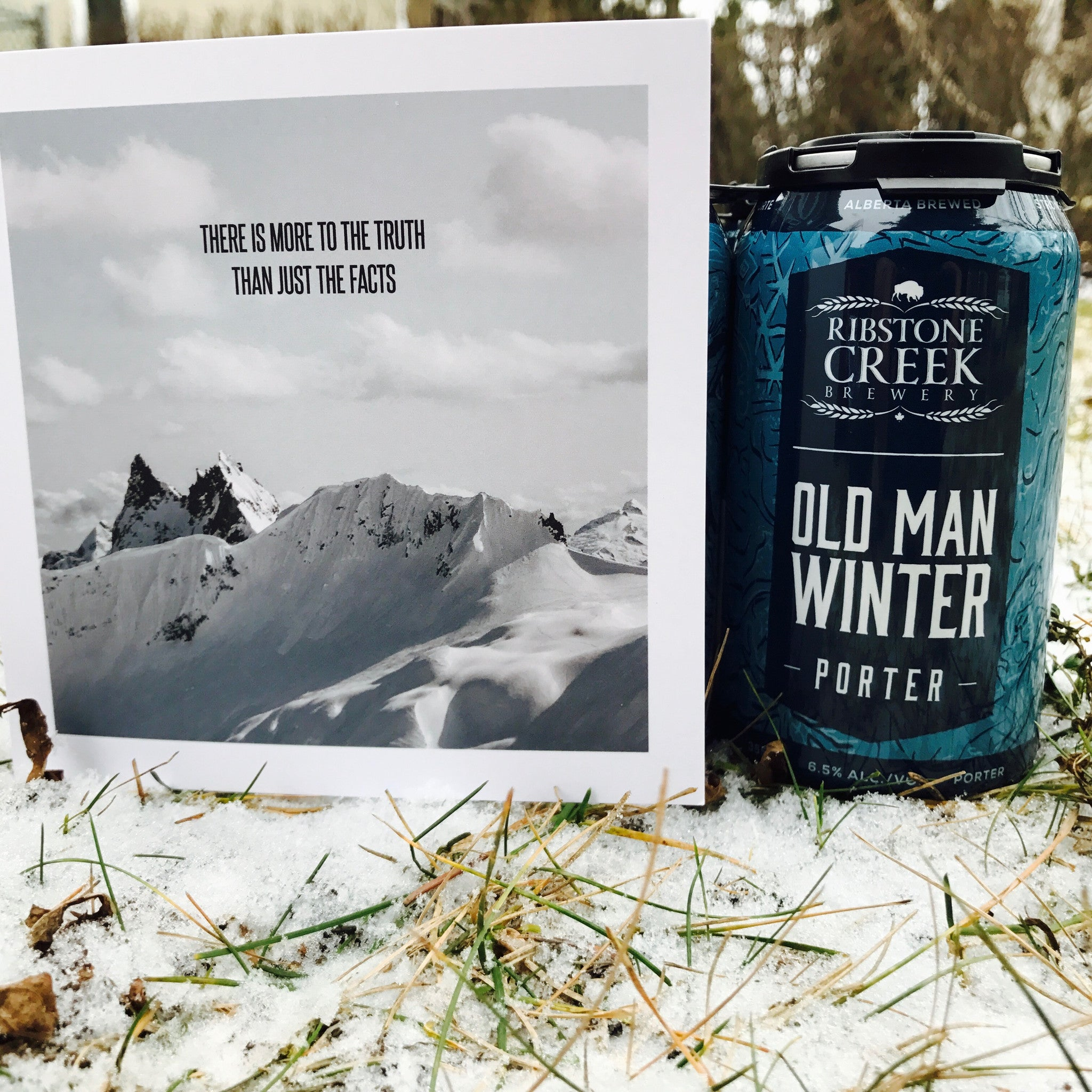 A Gallantry Beer Pair: There is More to the Truth Than Just the Facts + Old Man Winter