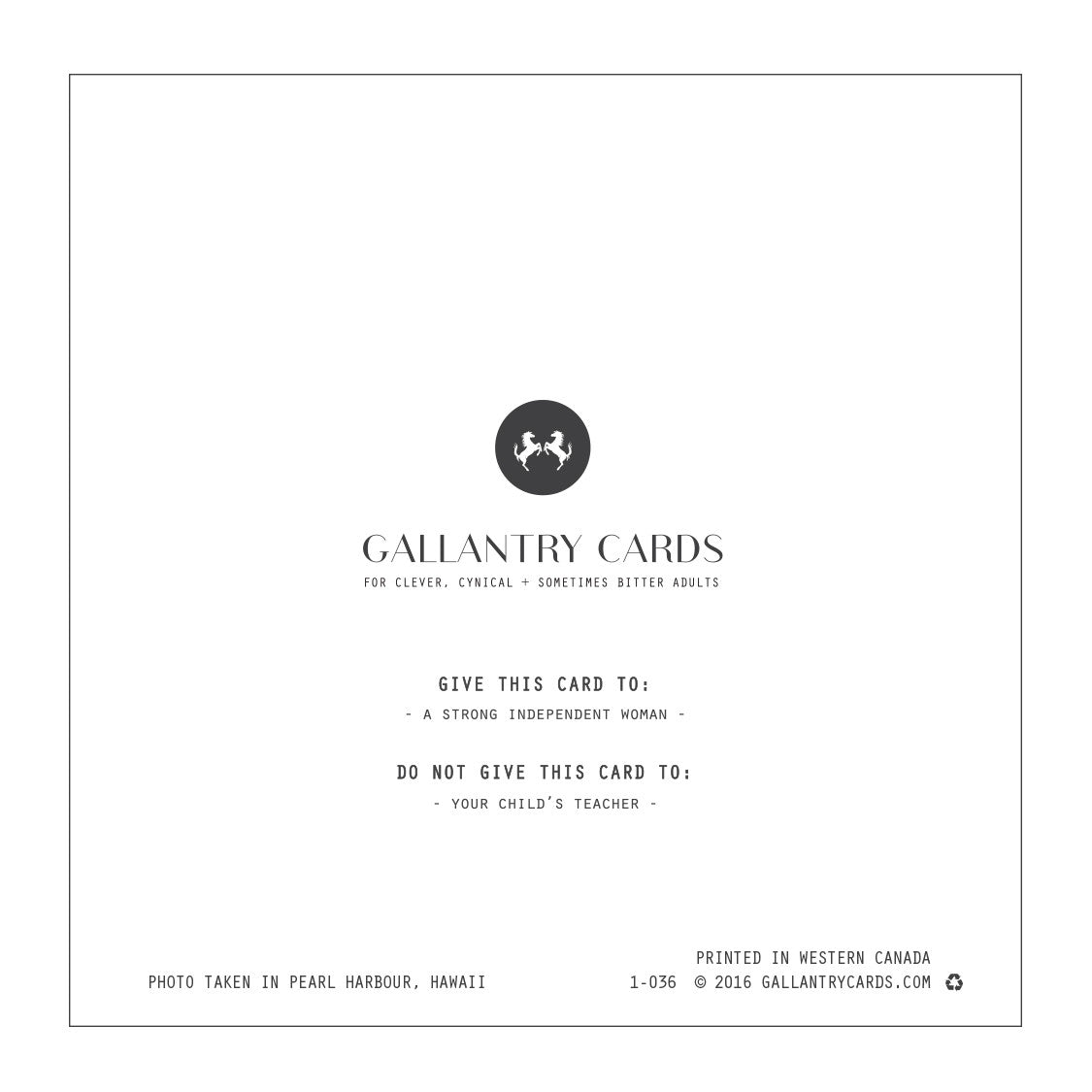Rely upon yourself gallantry cards rely upon yourself solutioingenieria Image collections