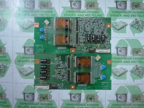 INVERTER BOARD 6632L-0189A+6632L-0190A (MASTER&SLAVE) - PHILIPS 32PF4320/10 - Express TV Parts UK
