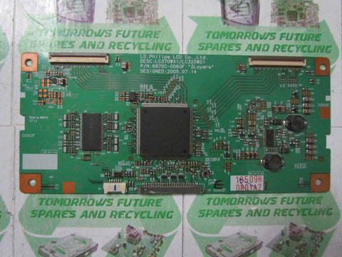 TCON BOARD 6870C-0060F - BUSH ID LCD37TV27HD - Express TV Parts UK