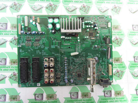 MAIN AV BOARD V28A000491B1 - TOSHIBA 37Z3030D - Express TV Parts UK