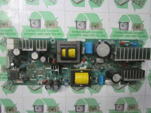 POWER SUPPLY BOARD PSU PD2105 A-1 23590206C - TOSHIBA 3WL56P - Express TV Parts UK
