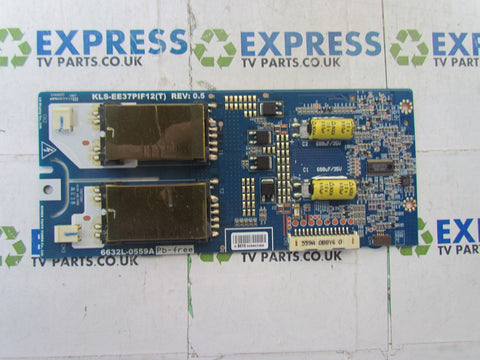 INVERTER BOARD 6632L-0559A - TOSHIBA 37XV635D - Express TV Parts UK