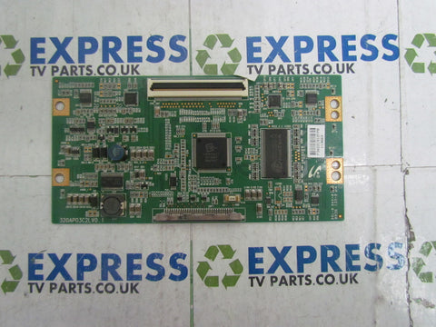TCON BOARD 320AP03C2LV0.1 - HITACHI L32HP03U AX - Express TV Parts UK