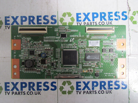 TCON BOARD 40HDCP2LV0.3 - SAMSUNG LE40A456C2D - Express TV Parts UK