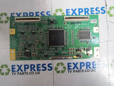 TCON BOARD 3240WTC4LV0.5 - SAMSUNG LE40R73BD3 - Express TV Parts UK