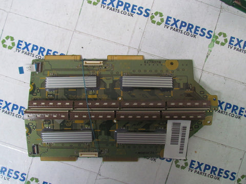 BUFFER BOARD TNPA4384 + TNPA4383 - PANASONIC TH-42PZ70BA - Express TV Parts UK