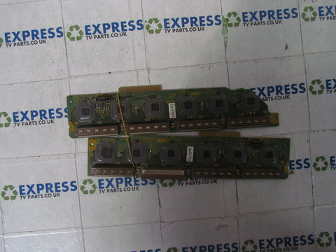 BUFFER BOARD TNPA4185 + TNPA4184 - PANASONIC TH-42PX70B - Express TV Parts UK