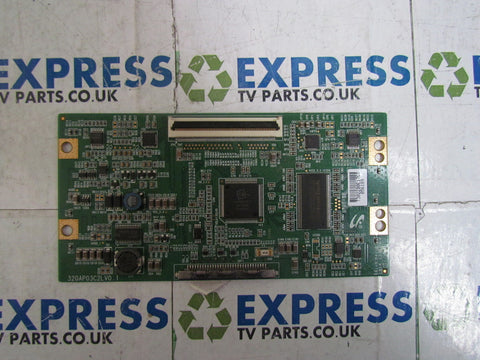 TCON BOARD 320AP03C2LV0.1 - TECHNIKA LCD32-612 - Express TV Parts UK