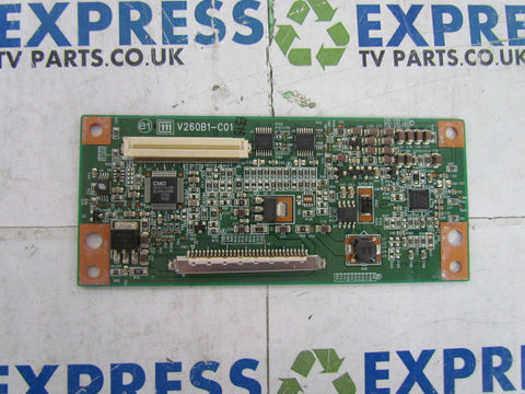 TCON BOARD V260B1-C01 - SONY KDL-26U3000 - Express TV Parts UK
