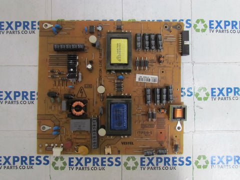 POWER SUPPLY BOARD PSU 17IPS19-5 V1 (061112) - HITACHI 32HXC01UA - Express TV Parts UK