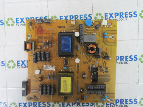 POWER SUPPLY BOARD PSU 17IPS19-5P - PHILIPS 32HLF2808D/10 - Express TV Parts UK