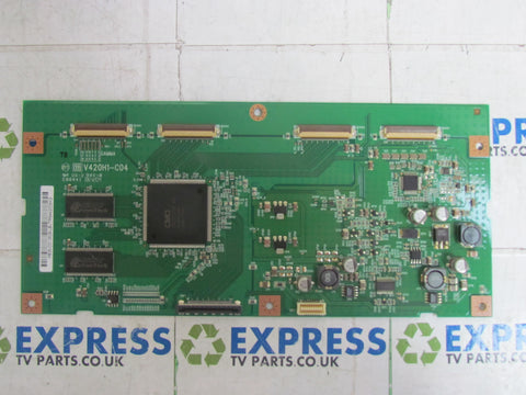 TCON BOARD V420H1-C04 - SHARP LC-42XD1E - Express TV Parts UK