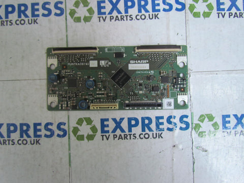 TCON BOARD RUNTKA561WJ - SHARP LC-32DH57E-BK - Express TV Parts UK