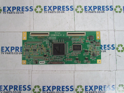 TCON BOARD 320W2C4LV1 4 - JVC LT-32DS6BJ - Express TV Parts UK