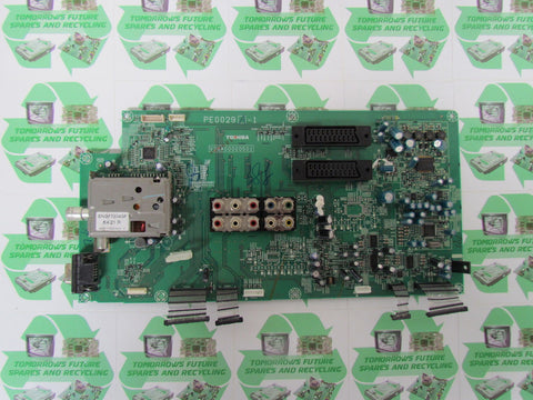 MAIN AV BOARD V28A00000501, PE0029A-1 - TOSHIBA 32WT66 - Express TV Parts UK