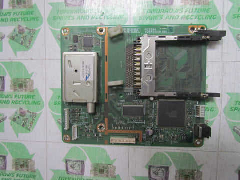 FREEVIEW TUNER BOARD PE0284 B V28A000319B1 - TOSHIBA 46XF355D - Express TV Parts UK