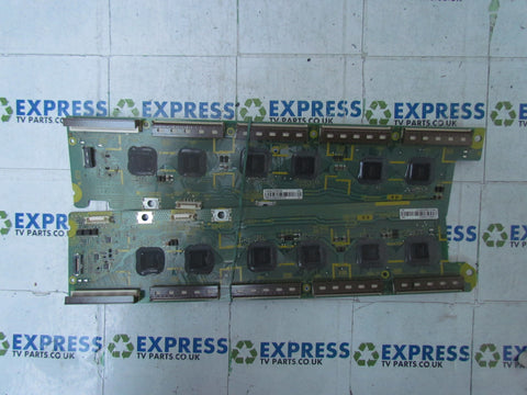 BUFFER BOARD TNPA5091 + TNPA5090 (1)(SU)(SD) - PANASONIC TX-P50VT20B - Express TV Parts UK