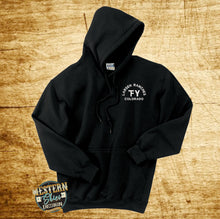 Custom Branded Sweatshirt -Black and Safety Colors
