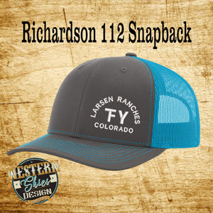 Richardson 112 Premium Custom Embroidered Trucker Hat
