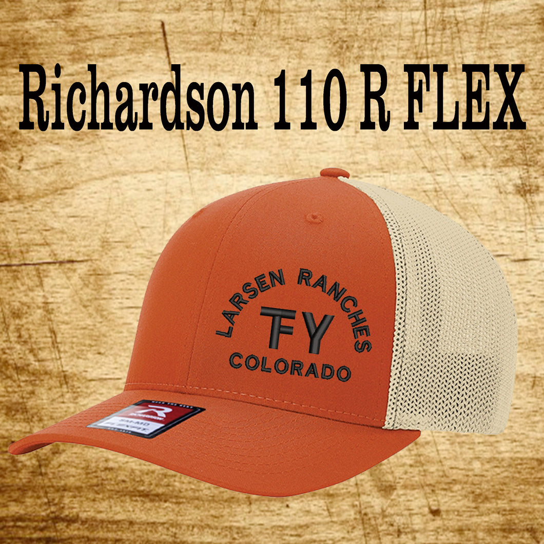 Richardson 110 Fitted Back