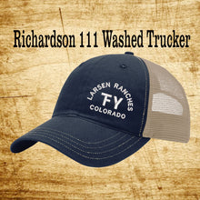 Richardson 111 Washed Trucker