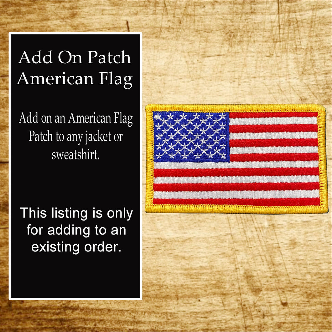 Add on American Flag Patch